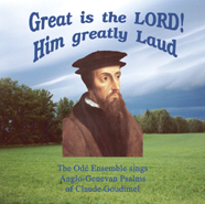 Great is the LORD! Him Greatly Laud
