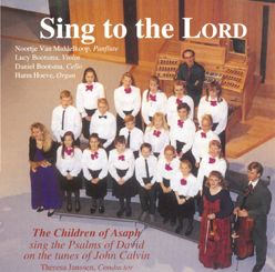 CD Sing to the Lord